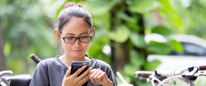 просмотр информации в телефоне