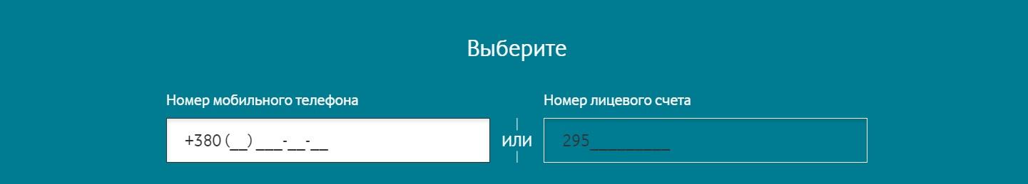 внесение номера телефона